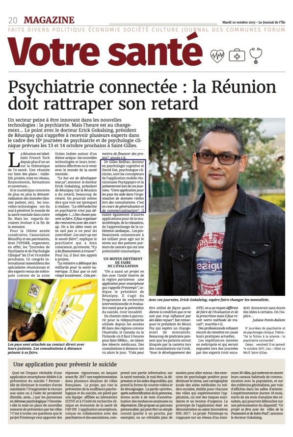 psyapps - article journal JIR - rencontre reunipsy