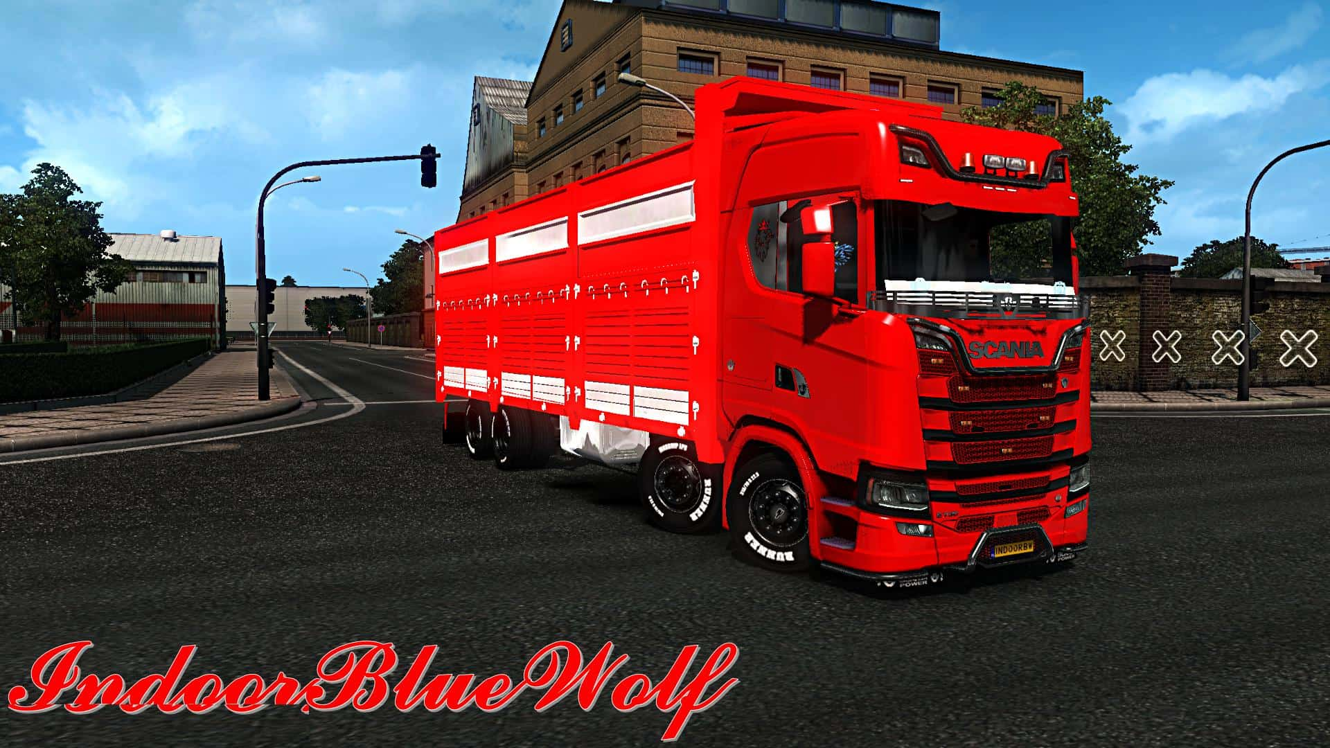 scania 2016 centipede by