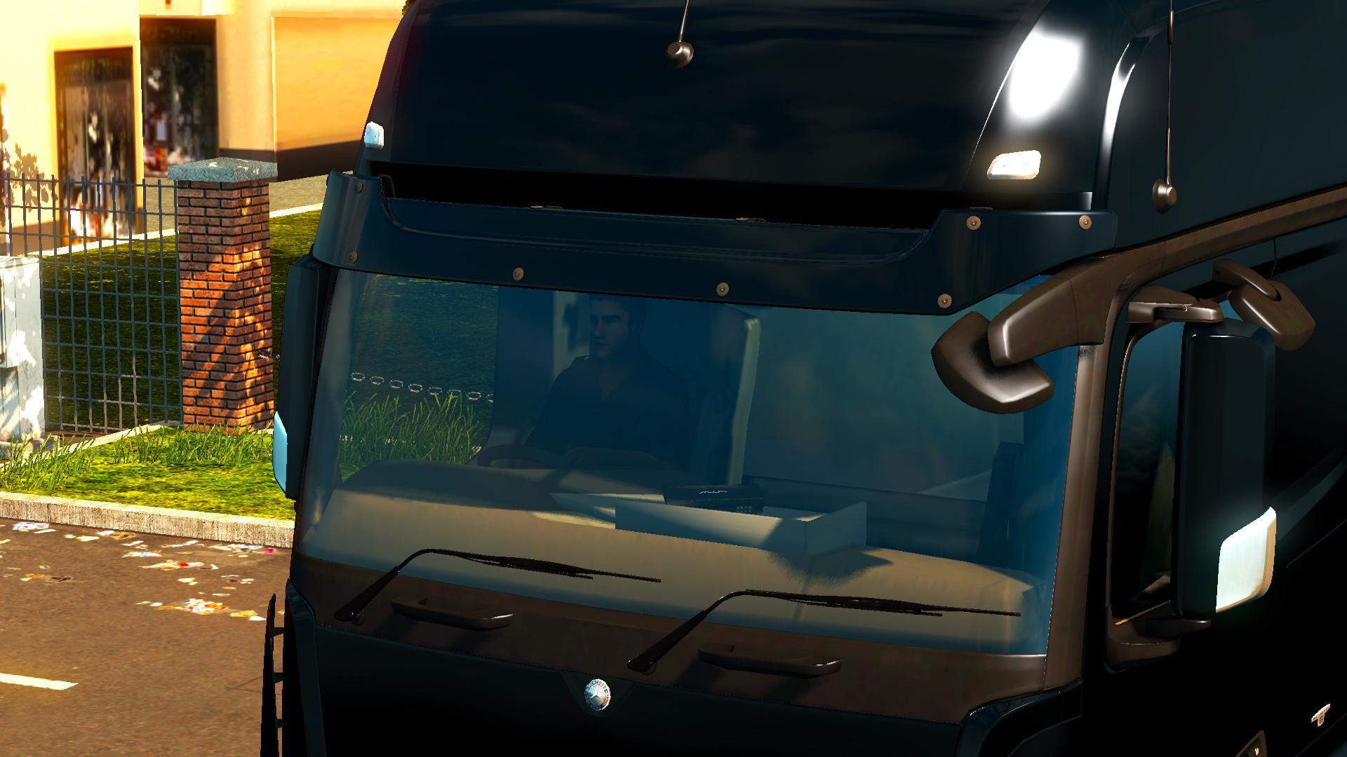 MERCEDES ACTROS MP4 TABLE V11 ETS2 Euro Truck Simulator 2 Mods