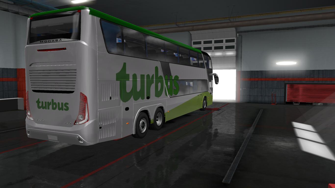 MODASA ZEUS III DP 6X2 VOLVO BY RONALD CRUZ BUS MOD Euro