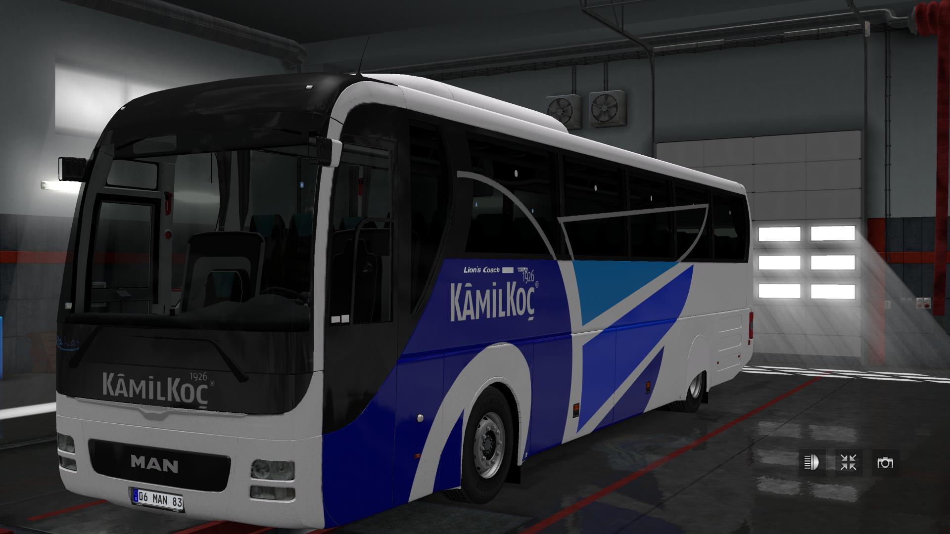 MAN LIONS COACH E6 130 BUS MOD Euro Truck Simulator 2 Mods