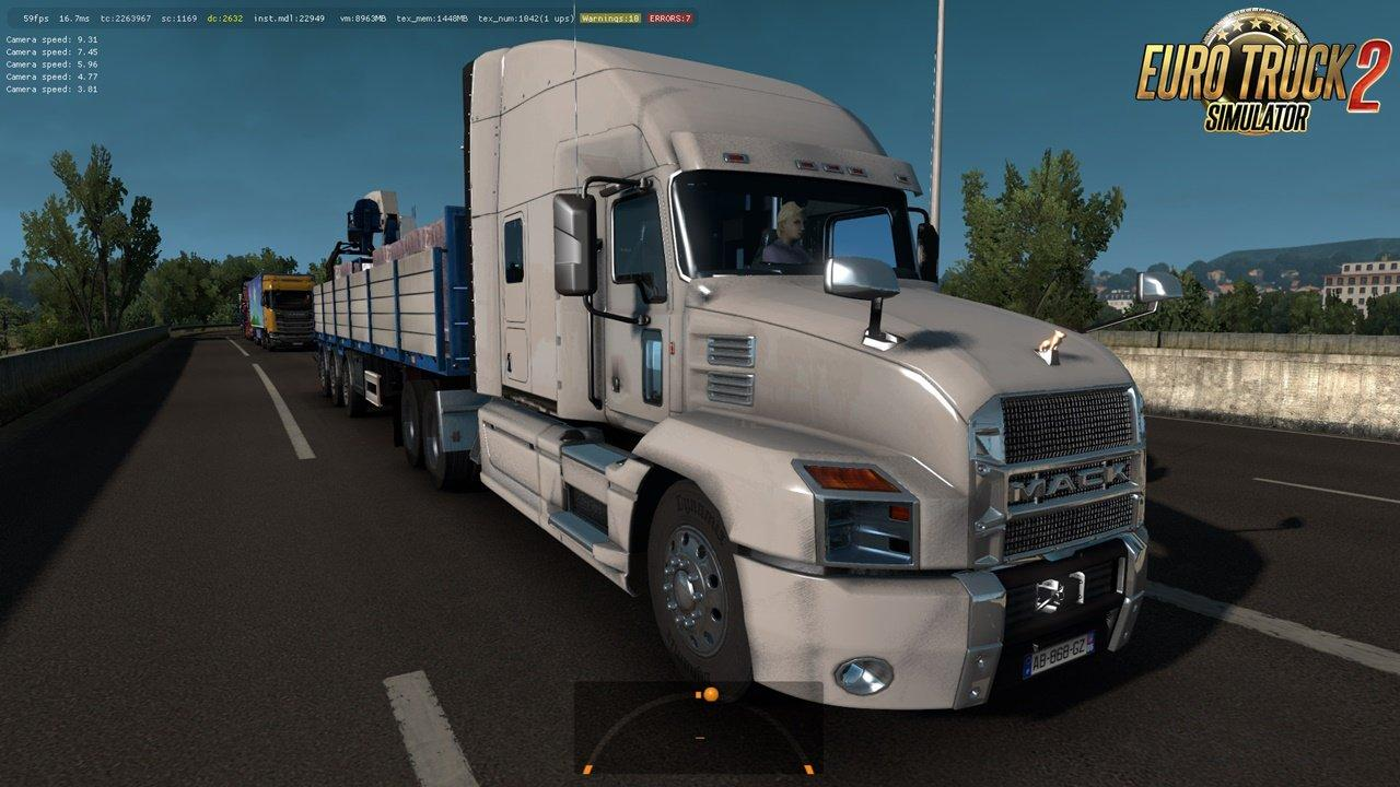 Mack Anthem 2018 In Traffic 1 32 X Mod Euro Truck
