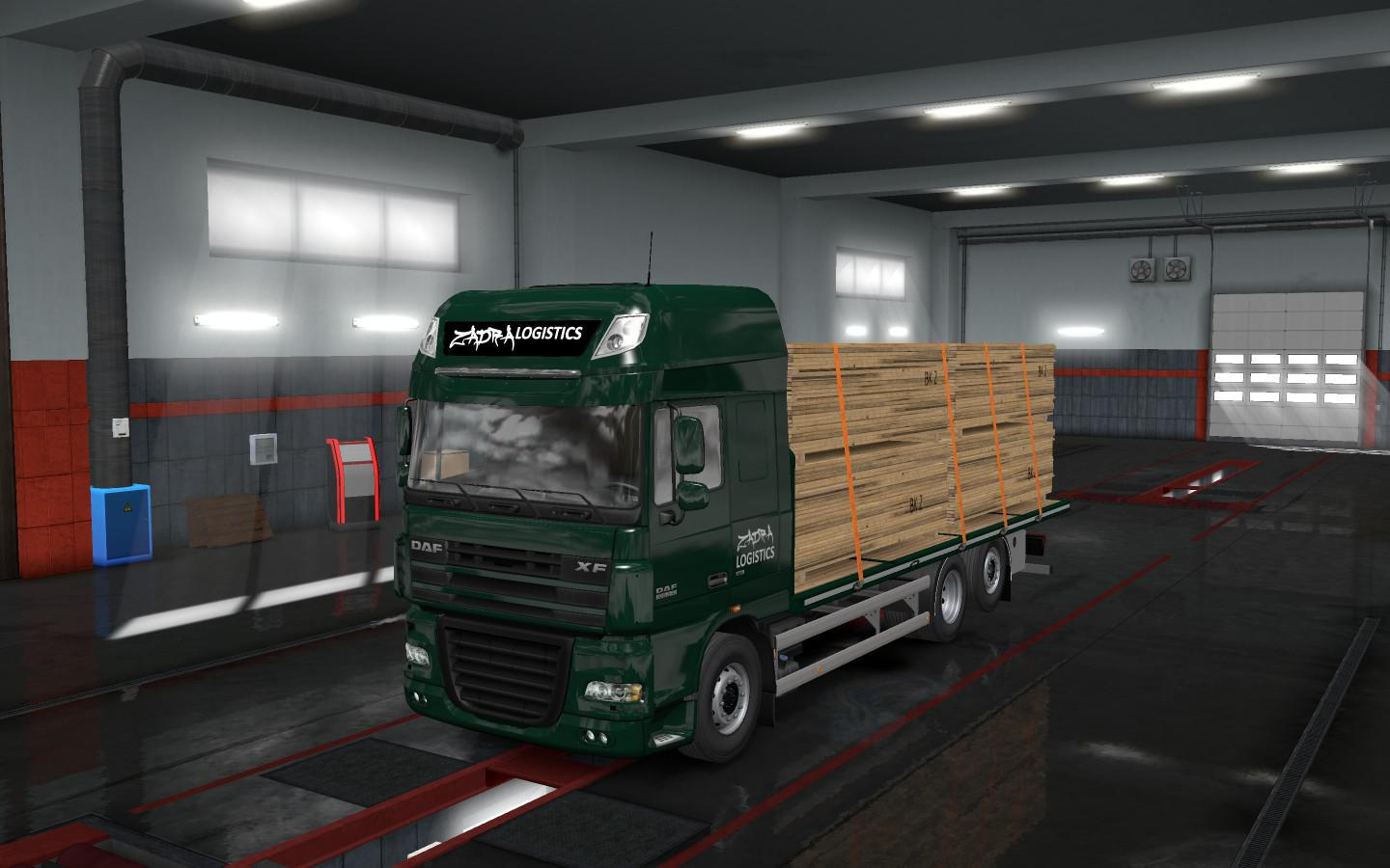 Flatbed Addon For Tandem For Rigid Chassis Pack For All