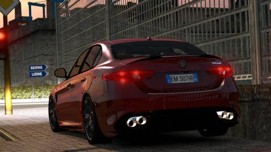 Alfa Romeo Giulia V1 2 For 1 35 Car Euro Truck Simulator