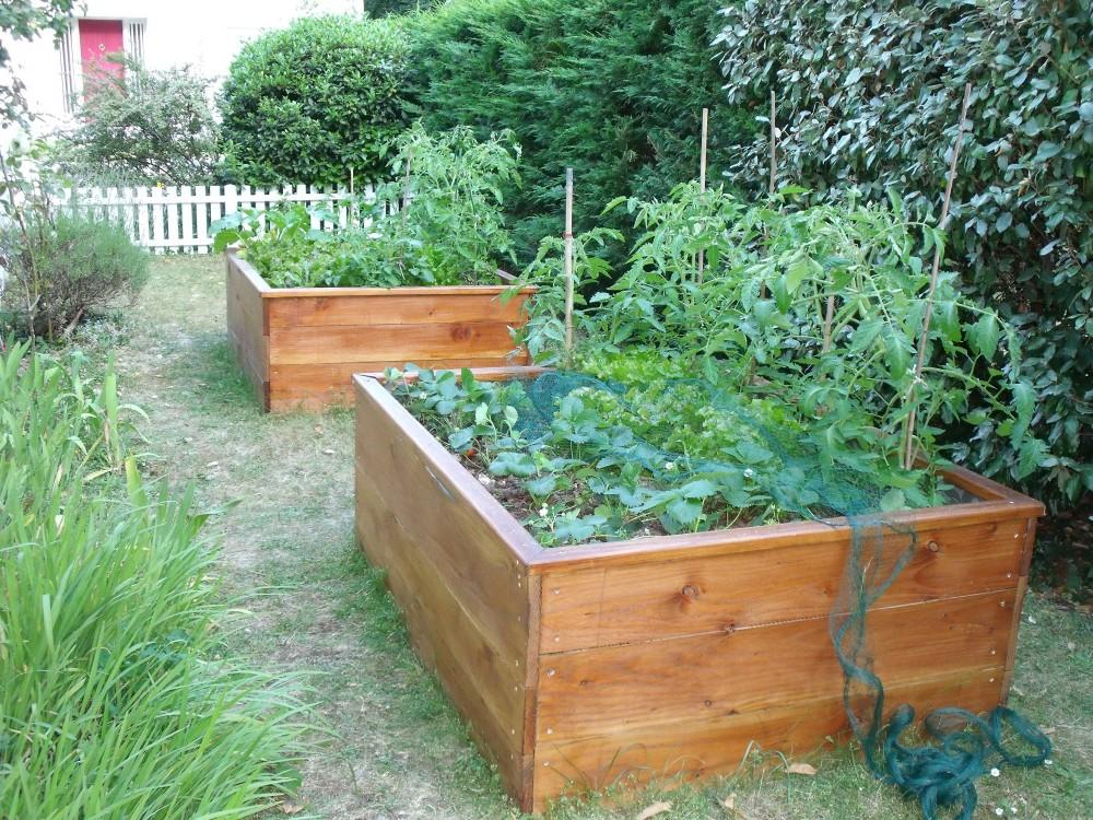 Potager Palette Bois Fabriquer Une Jardiniere En Bois De
