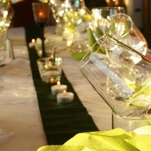 decorazione da tavolo di capodanno
