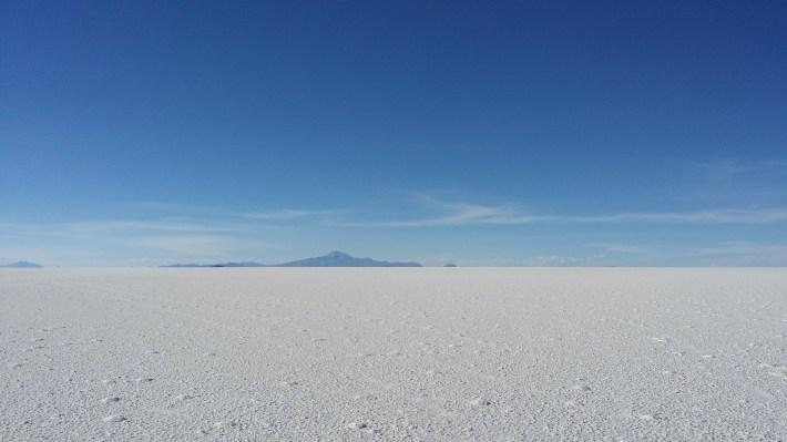 Bolivie: Itinéraire dans la mesure du possible - Salar