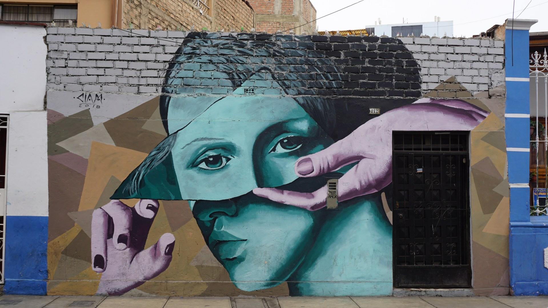 Lima - Mural dans Barranco
