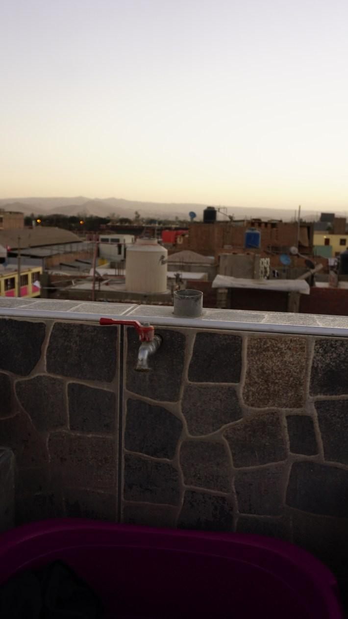 Ica Wasi Hostel - La vue depuis le toit