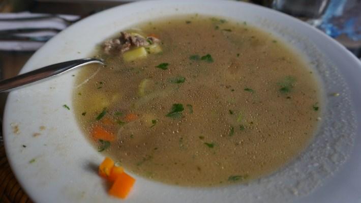 Nazca - Sopa de Quinua con Carne