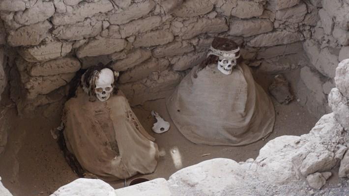 Nazca - Les tombeaux de Chauchilla