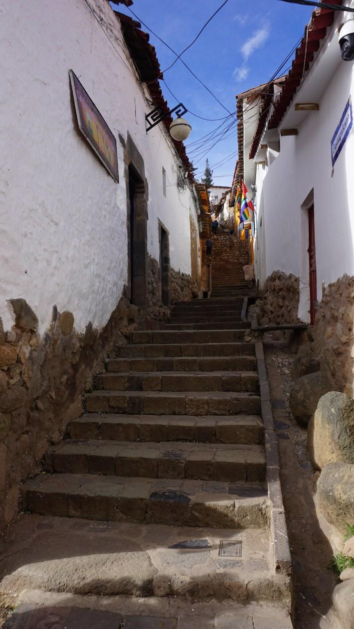 Cusco et la vallée sacrée - Les marches