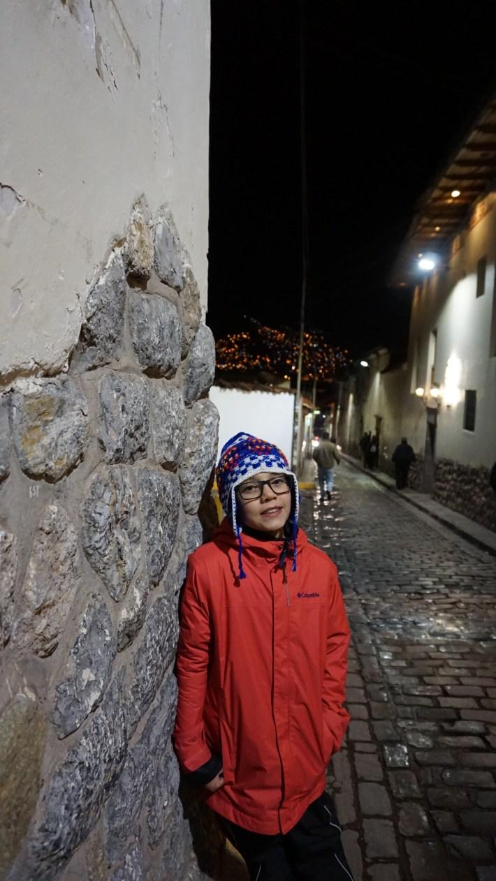 Cusco et la vallée sacrée - Benjamin et sa tuque