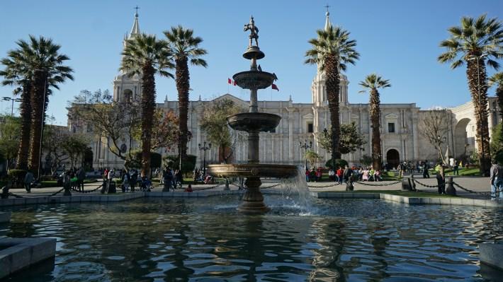 Arequipa, le canyon de Colca et tout le tralala - La cathédrale