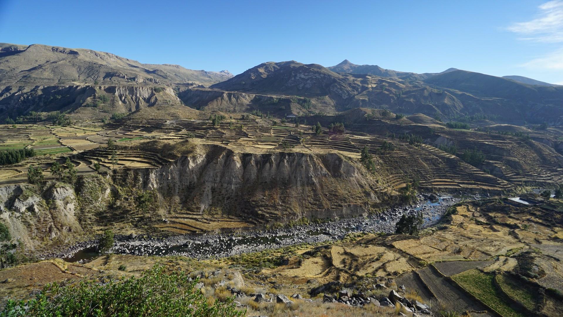 Arequipa, le canyon de Colca et tout le tralala - Le canyon