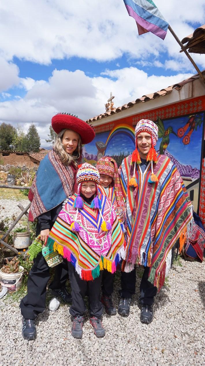 Vinicunca, Machu Picchu et haut là là - En costume