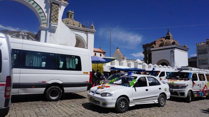 Ça gaz à La Paz - Baptême des voitures