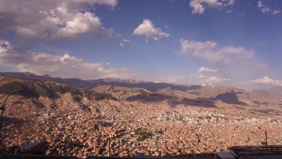 Ça gaz à La Paz