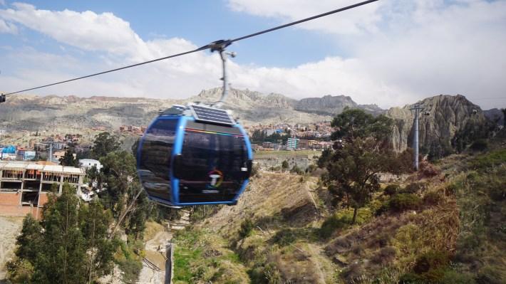 Ça gaz à La Paz - Téléphérique