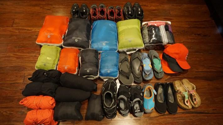 Notre équipement pour notre voyage autour du monde - Nos vêtements