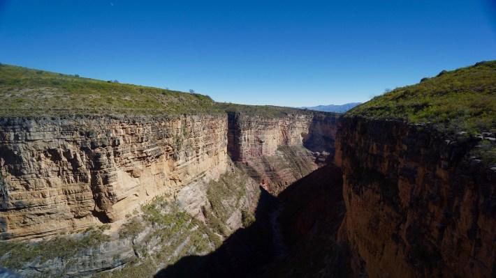 Torotoro - Canyon en haut