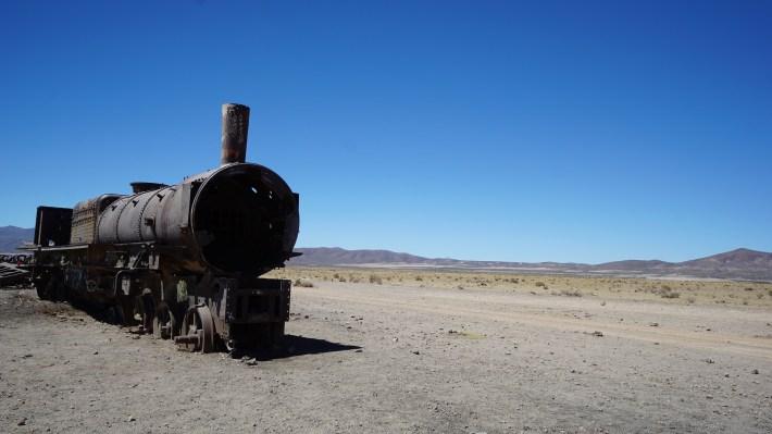 Sucre, Salar et Sud Lipez - Cimetières des trains