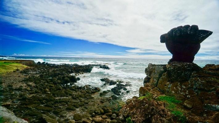 Île de Pâques - À la recherche de Rapa Nui pool - Paysage