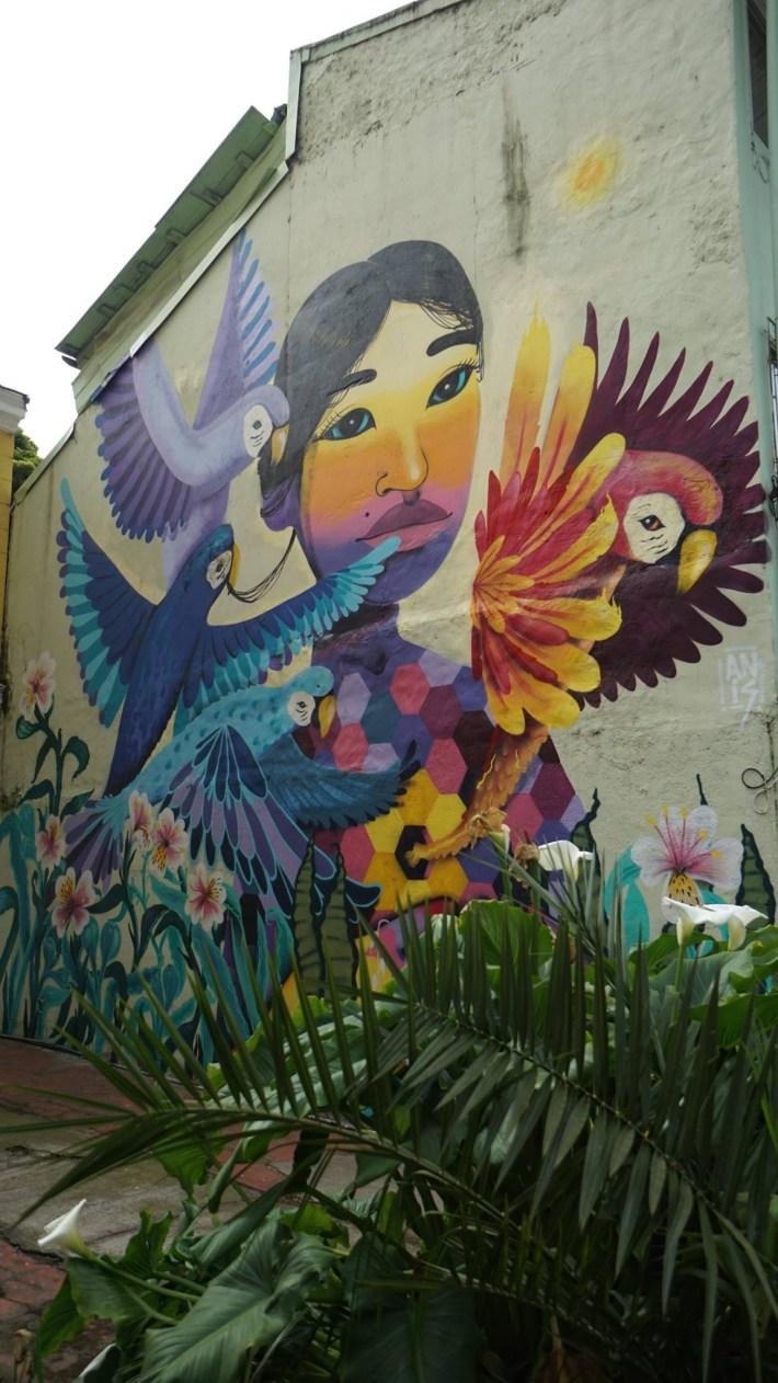Trois petits tours au Chili et puis s'en vont en Patagonie - Street art #1