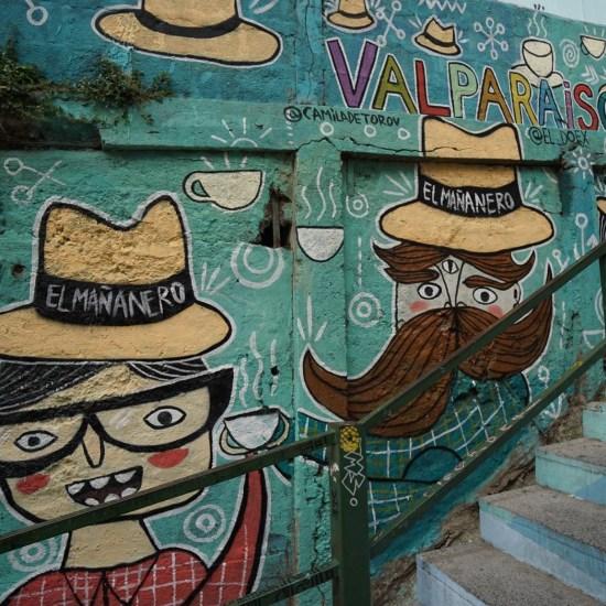 Trois petits tours au Chili et puis s'en vont en Patagonie - Street art