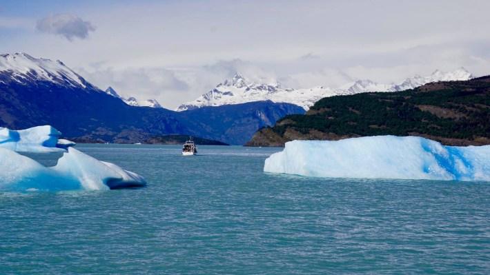 Descente au bout du monde - Iceberg