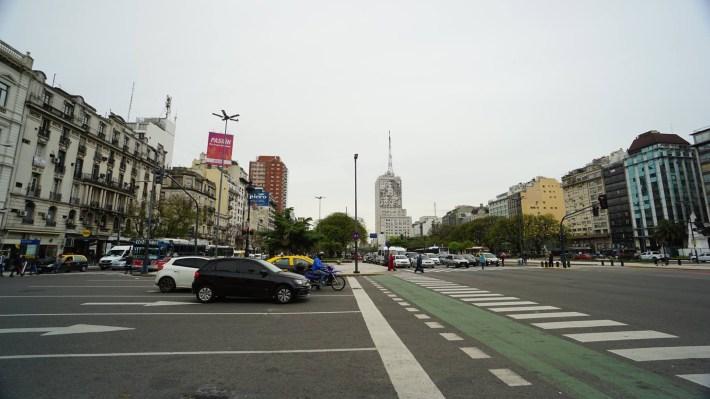 En Argentine, on fait comme les Argentins - Avenida 9 de Julio