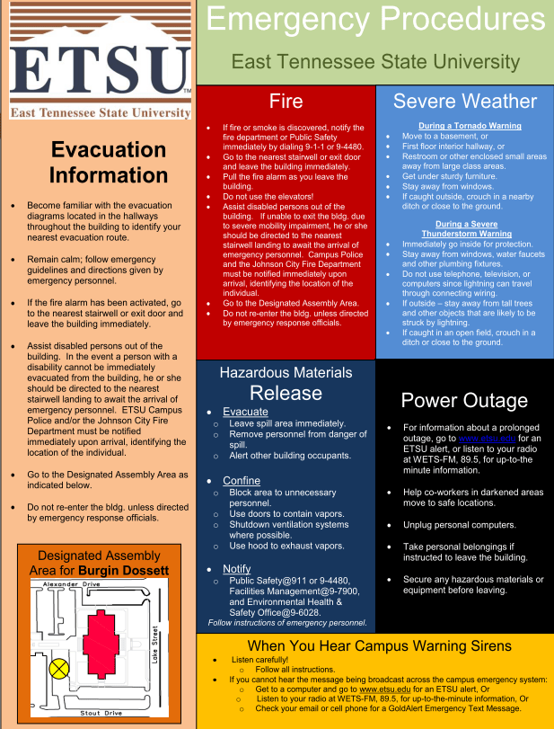 Campus Emergency Management Plan