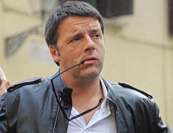 Renzi in versione 'Amici'...