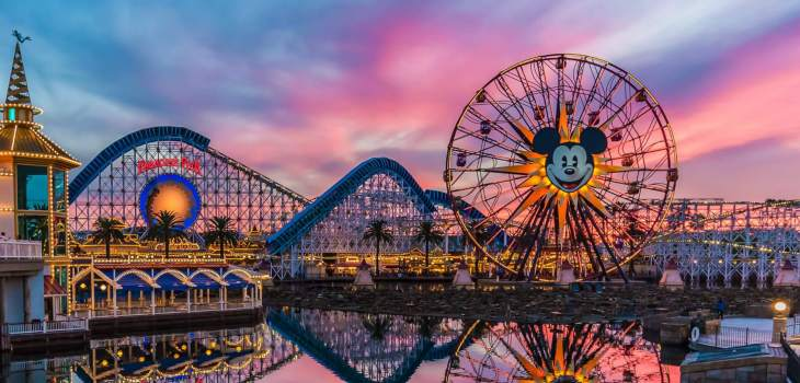 Tour Disney California Adventure Park with your group