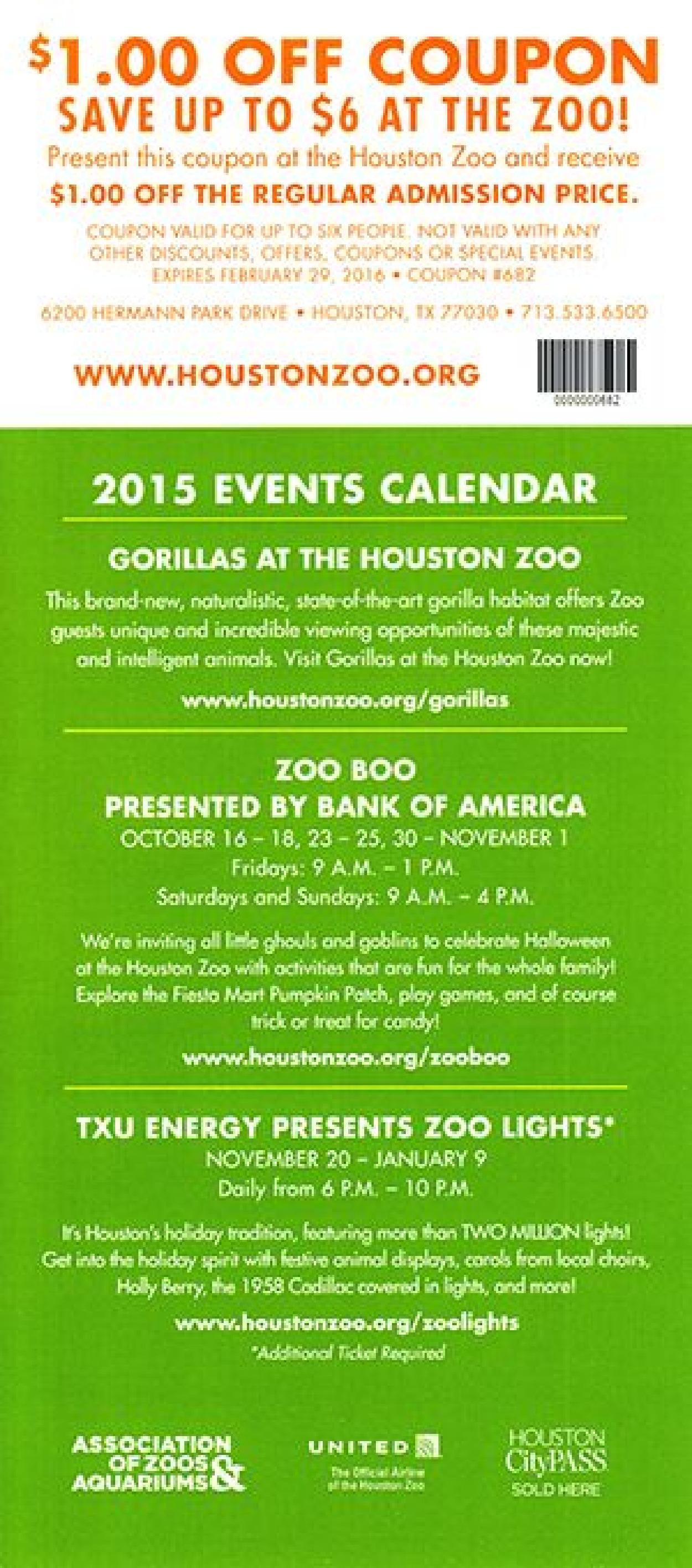 Zoo Lights Houston Discount Code