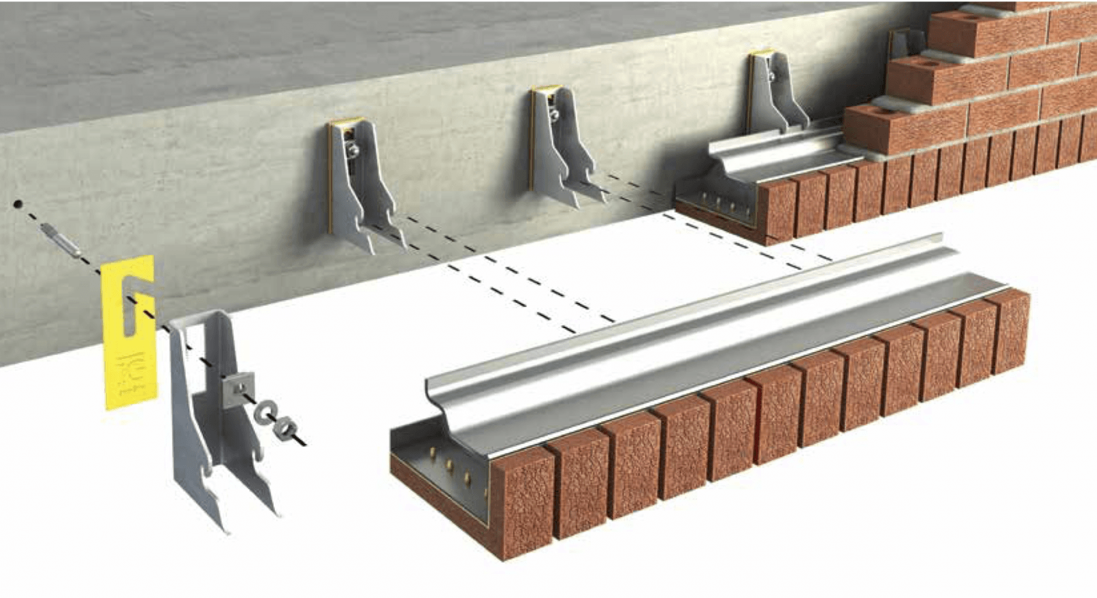 Masonry Support Systems Impact Thermal Performance