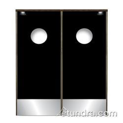 restaurant kitchen door porcelain tile floor commercial hardware tundra supply doors