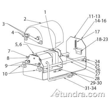 Nemco PowerKut Parts