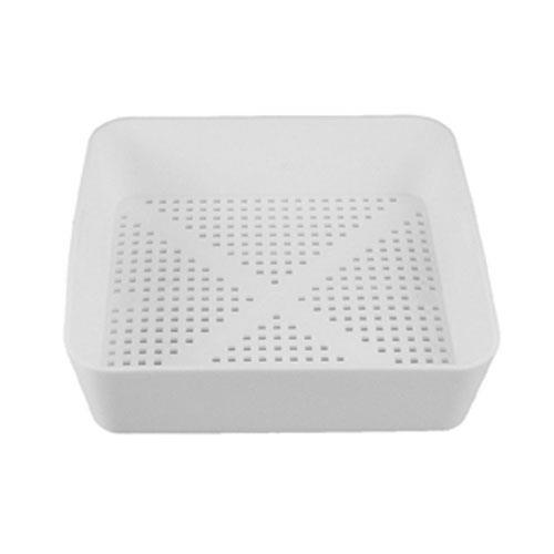 Commercial  8 12 in Square Floor Drain Strainer Basket