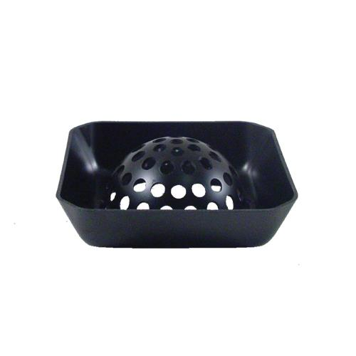 Commercial  Domed 6 12 in Square Floor Drain Basket