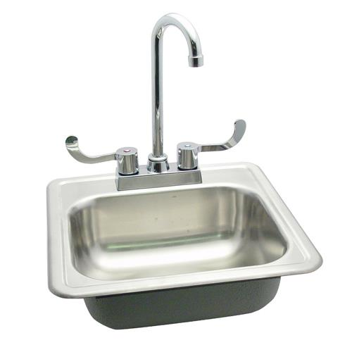 Commercial 15quot Drop In Hand Sink W Faucet Etundra