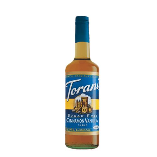 Torani 371520 750 ml Cinnamon Vanilla Sugar Free Syrup