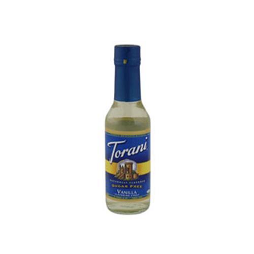 Torani 562805 150 ml Vanilla Sugar Free Syrup eTundra