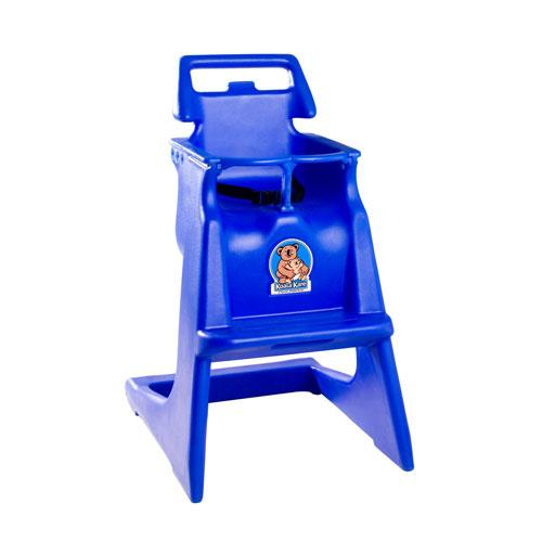 stackable rolling chairs paint for plastic koala - kb103-04 blue classic high chair | etundra