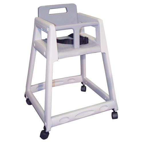 Koala  KB85001W  Gray Plastic High Chair  eTundra