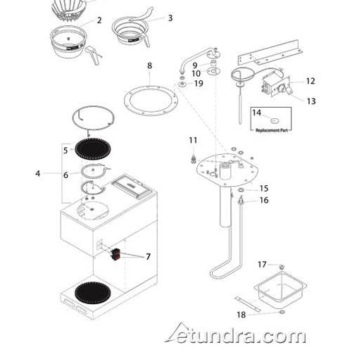 Wiring Diagram For Bunn Coffee Maker
