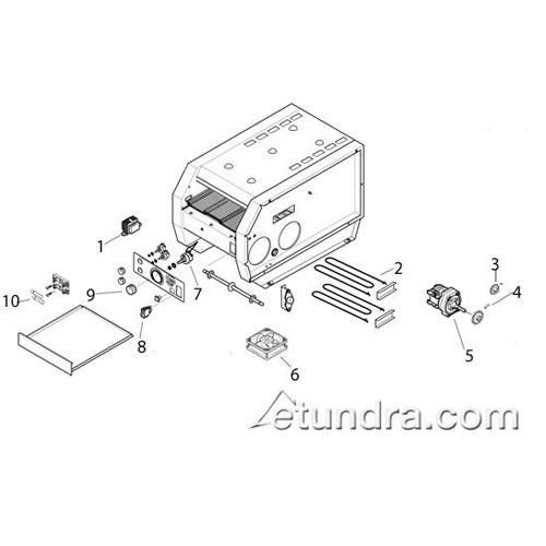 Electric Toaster Circuit Diagram