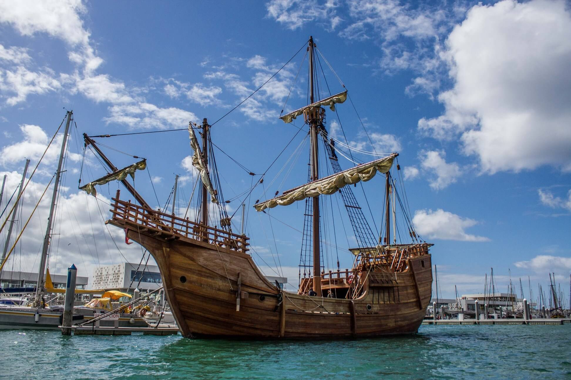 Christopher Columbus Replica Ship To Sail Back To America