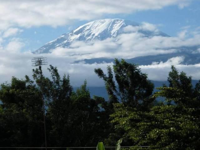 Spending the Holidays on Mount Kilimanjaro
