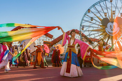 Lunar New Year event: The year of mouse comes to Disneyland Resort
